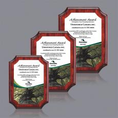 Full Color Plaques - Orsina/AstroSub Plaque - Rosewood