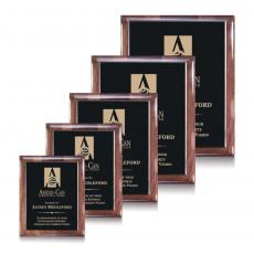 Customizable Plaque Awards - Telford Plaque - Ebony/Walnut