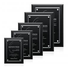 Customizable Plaque Awards - Ulster Plaque - Black