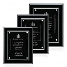 Customizable Plaque Awards - Lexicon Plaque - Silver