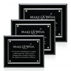 Customizable Plaque Awards - Lexicon Plaque - Gold