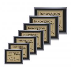 Customizable Plaque Awards - Avonlea/Everett - Black/Gold