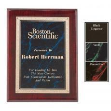 Customizable Plaque Awards - Gemstone Rosewood Plaque