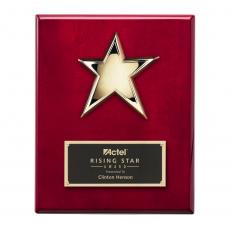 Customizable Plaque Awards - Star Plaque