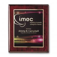 Full Color Plaques - SpectraPrint™ Plaque - Rosewood