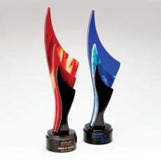 Art Glass Awards & Trophies - Amaranthine Award