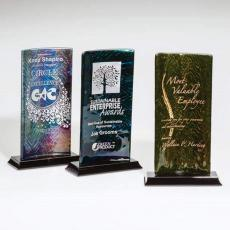 Art Glass Awards & Trophies - Cairn Award