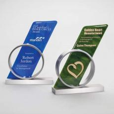 Art Glass Awards & Trophies - Convergance Award