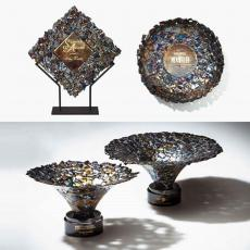 Art Glass Awards & Trophies - Ingot Award