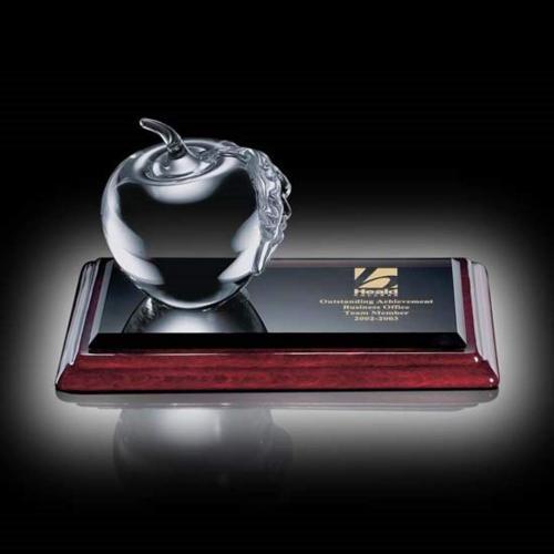 Apple Clear Leaf Award on Albion