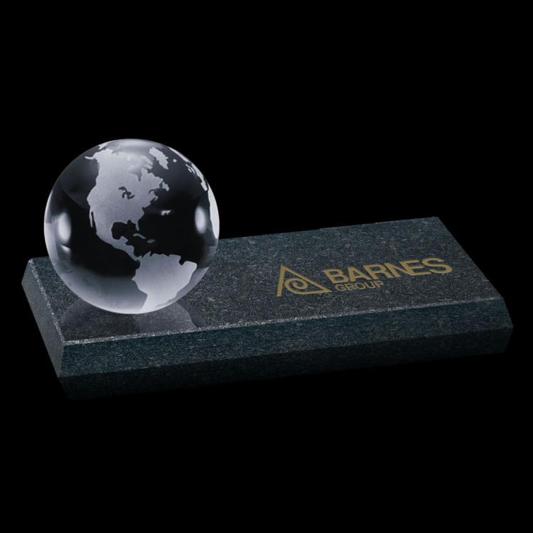 Globe on Granite Base