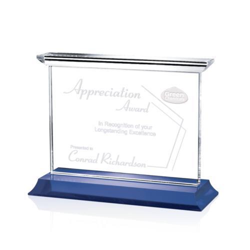Tobermory Award - Blue (Horizontal)