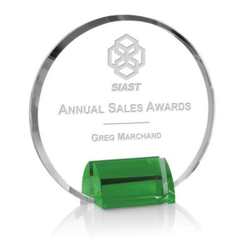 Olympia Award - Optical/Green
