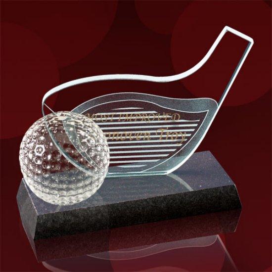 Golf Driver & Ball