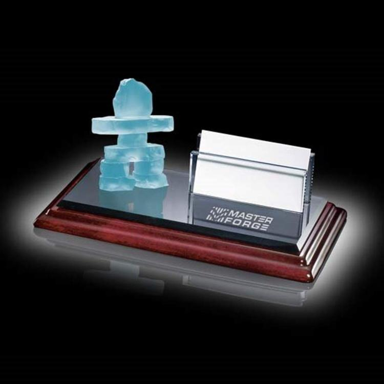 Inukshuk Card Holder