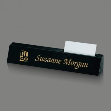 Nameplate with Cardholder