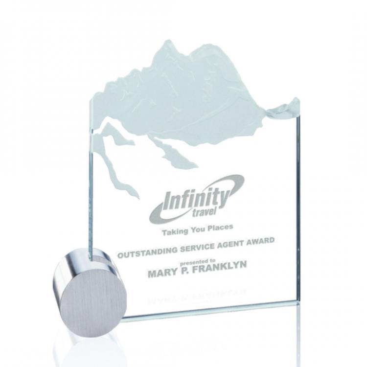 Hillstone Award - Jade/Chrome Circle