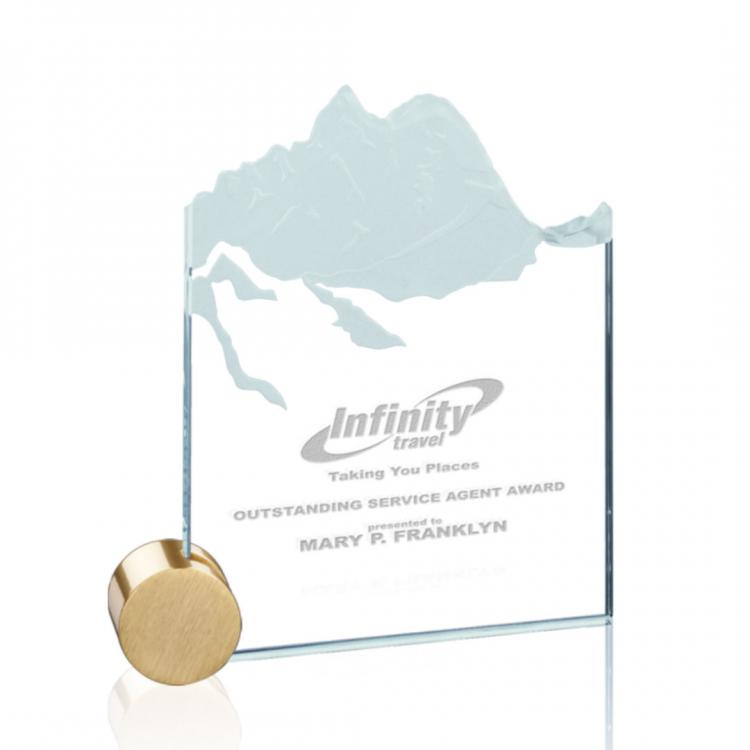 Hillstone Award - Jade/Gold Circle