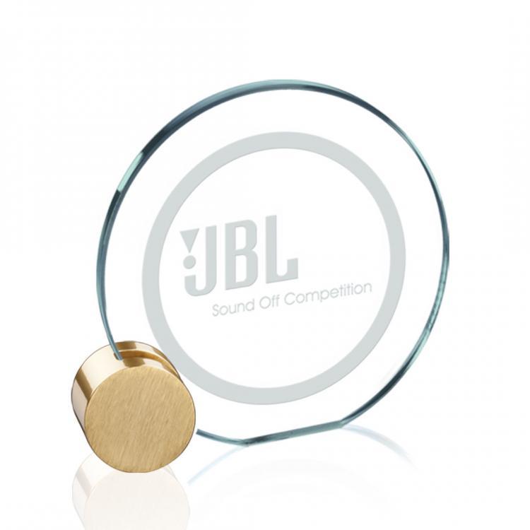 Verdunn Award - Jade/Gold Circle 5