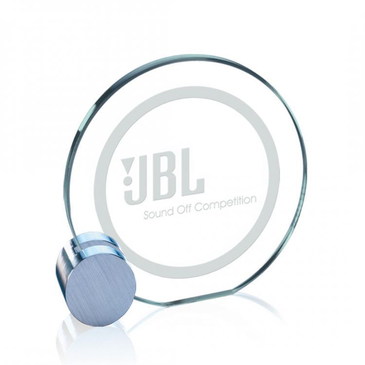Verdunn Award - Jade/Chrome Circle