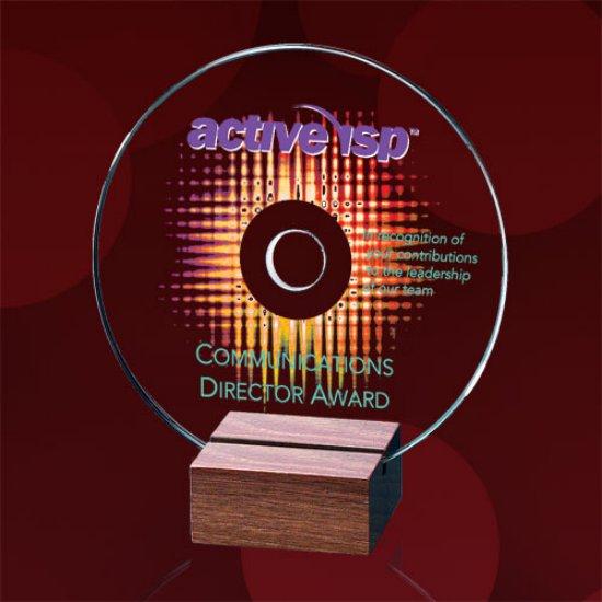 CD Award - Jade/Walnut