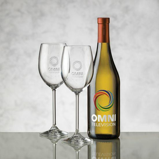 Chardonnay - VividPrint™ & Woodbridge Wine Set