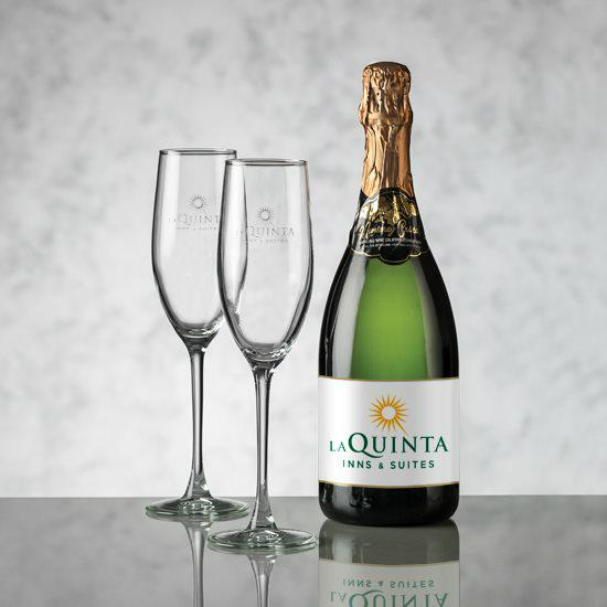 Champagne - Color Label & Connoisseur Flute Set