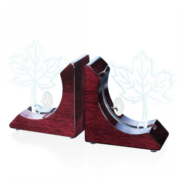 Harvard Bookends - Starfire/Rosewood
