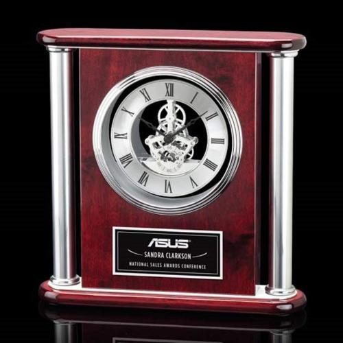 Orwell Clock - Silver