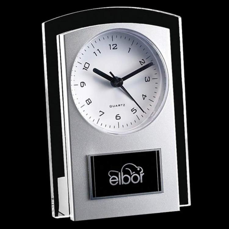 Mallory Clock - Black