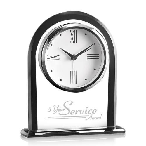 Whitby Clock - Black