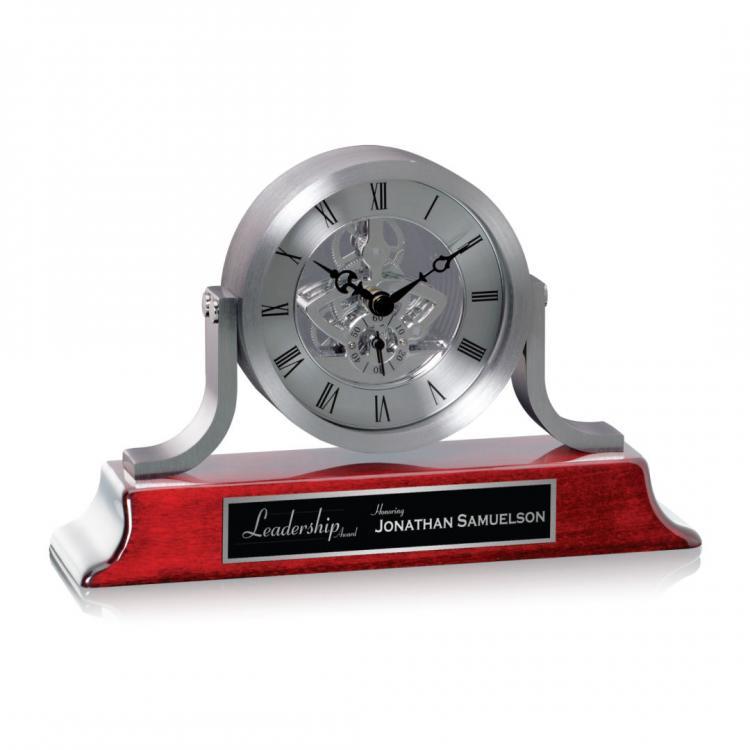 Larson Clock - Silver