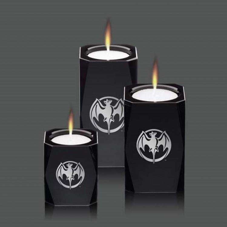 Abbey Candleholders - Black