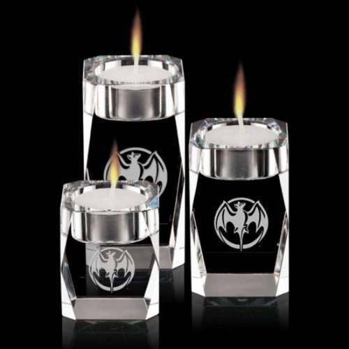 Abbey Candleholder - Optical (Set of 3)