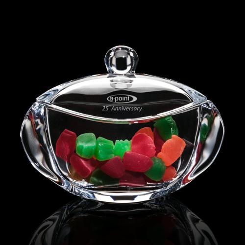 Tilden Candy Bowl & Lid