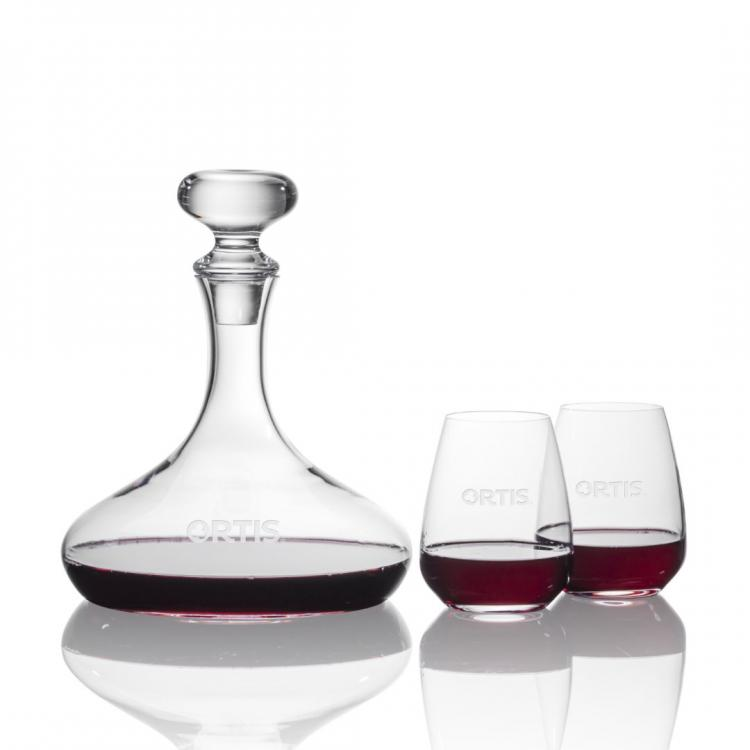 Stratford Stemless Wine Set
