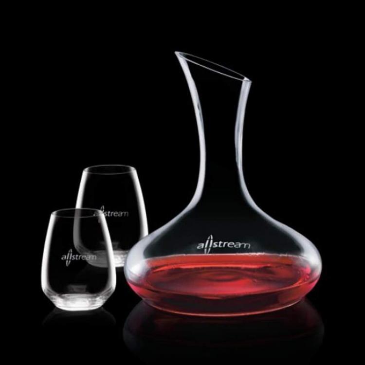 Cimarron Carafe & Stemless Wine