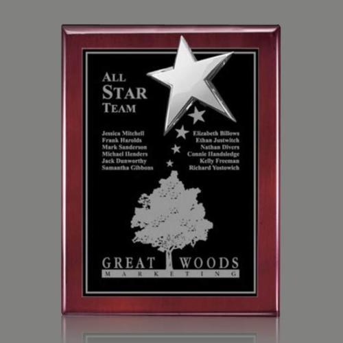 Rising Star Plaque