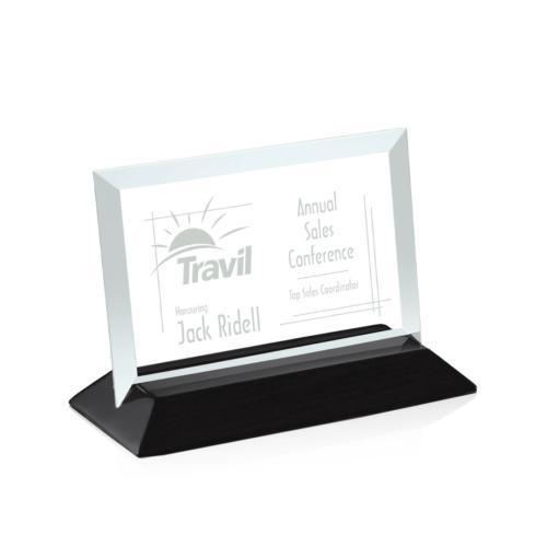 Embassy Award - Jade/Black (Horizontal)