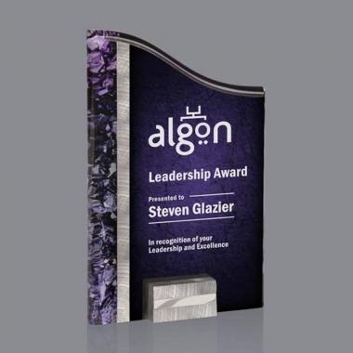 Ventura Award - Silver/Purple