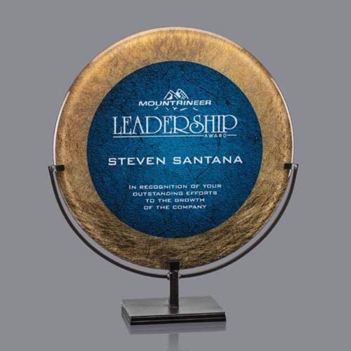 Baldridge Award - Gold/Blue