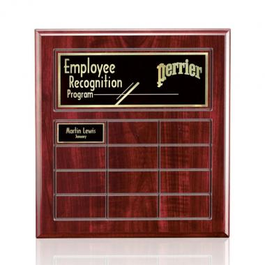 Antwerp Perpetual Plaque - Cherry Finish