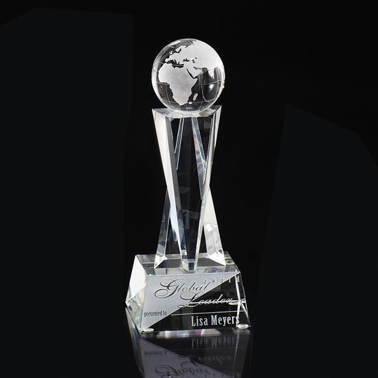 Crystal Elegance Globe