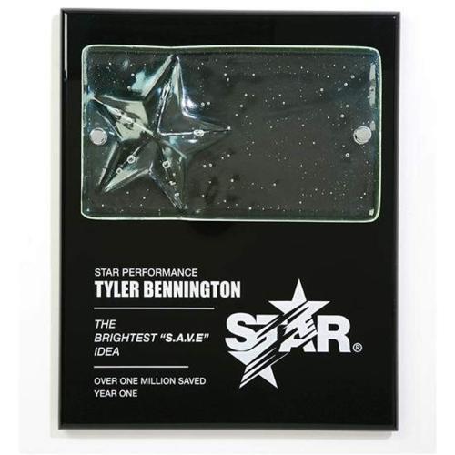 Cast Star Plaque
