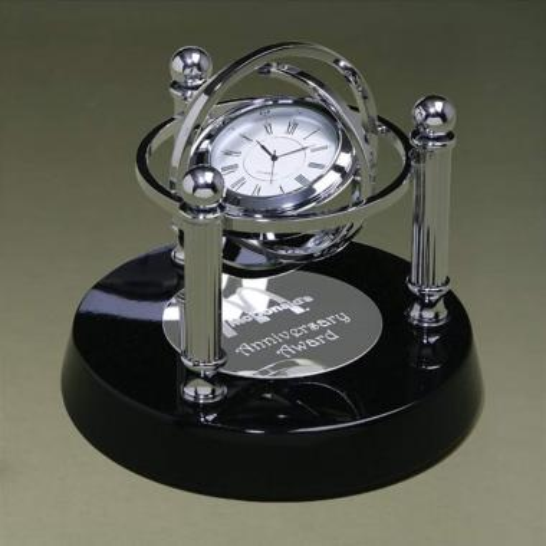 Gyroscope Clock