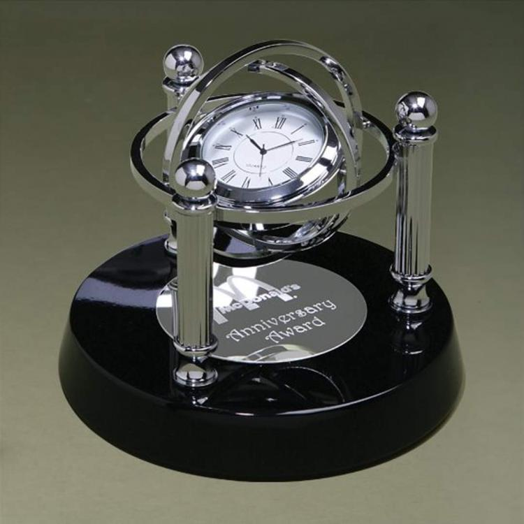 Gyroscope Clock