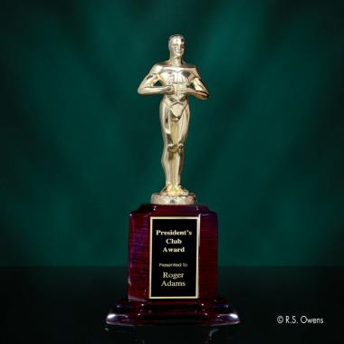 Classic Achievement Award on Rosewood