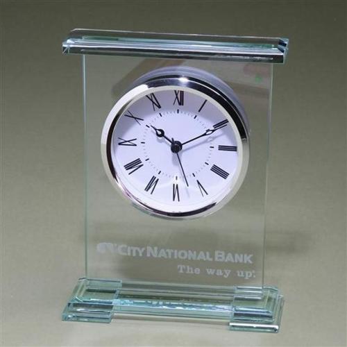 Jade Award Clock