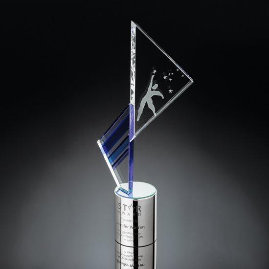 Empyrean Award - Cobalt/Optical/Silver