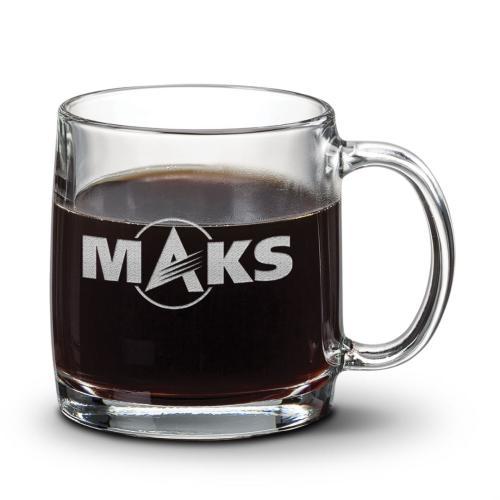 Nordic Coffee Mug - Deep Etch 13oz